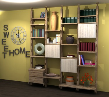 rubio-gris-beton-et-rubio-blanc-meuble-multifonction-4x50-1-bloc-tiroirs-et-3-blocs-1-porte